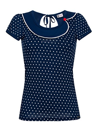 Pussy Deluxe Lovely Marine Maglia donna blu navy XS