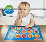 Disney Pooh Table Topper Disposable Stick-in-Place Placemats, 100-count