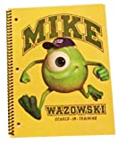 Disney Pixar Monsters University 1 Subject Notebook (Graphics/Colors Vary)