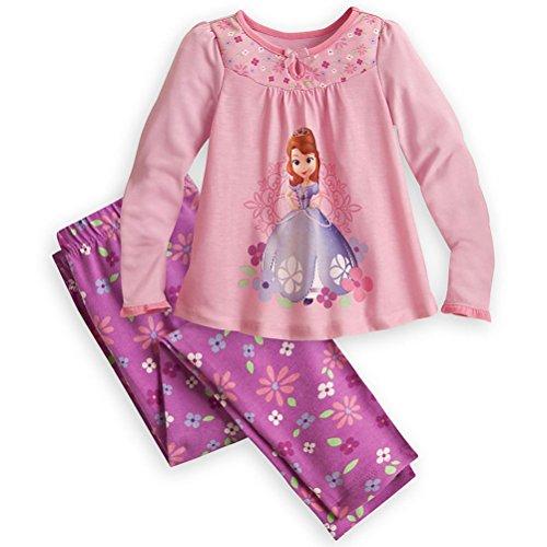 Disney Store Princess Sofia The First 2 Pc Pajama Set Girl Size 5 front-93361