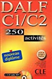 img - for Le Nouvel Entrainez-Vous: Nouveau Dalf C1/C2 - 250 Activites - Livre & CD MP3 by Lescure, Richard, Chenard, Samuelle, Beya, Anna Mubanga, Bou (2006) Paperback book / textbook / text book