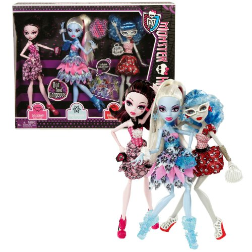 exclusive dot deadgorgeous  pack draculaura