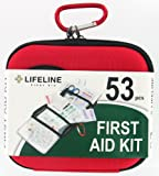 Lifeline 53 Piece First Aid Kit (Red)