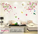 WallPicture Art-Pink Plum Blossom Flo...
