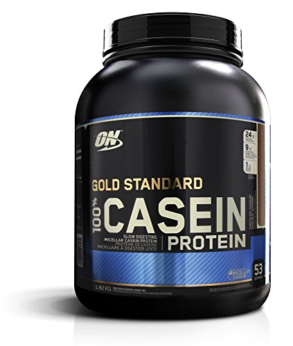 Casein is a form of protein that is very similar to whey, it is slower releasing so is not normally as popular with bodybuilders or gym goers.   But a 2012 study by Res et al found that casein taken immediately before bed helped increase muscle protein synthesis – more so than even whey protein.  Muscle protein synthesis is the process where protein repairs and strengthens damaged muscle fibres after exercise. Athletes require a lot more protein than sedentary people, which is why protein shakes such as Casein are so useful.  As usual Optimum Nutrition provide a fantastic product which contains 24g of protein per serving and 5g of BCAAs. You can take it post-workout or just before bed. There are 5 flavours to choose from: Strawberry, creamy vanilla, chocolate supreme, and cookies and cream. Just bear in mind that casein protein does not usually taste as nice as whey!