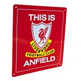 """Liverpool FC - """"This is Anfield"""" Official Metal Sign"""