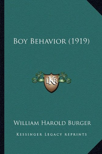 Boy Behavior (1919)