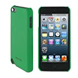 rooCASE Ultra Slim Matte (Green) Shell Case for Apple iPod Touch 5 (5th Generation Sept 2012)