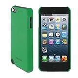 Estuche ultra delgado rooCASE mate (color verde) para Apple iPod Touch 5 (quinta generación Sept 2012)