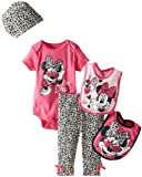 Disney Baby-Girls Newborn 5 Piece Minnie Gift Set