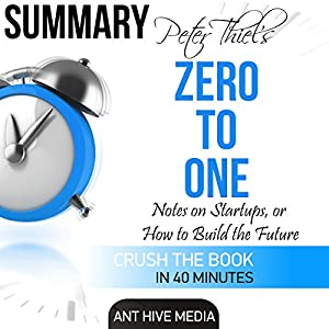 Peter Theil's Zero to One Audiobook