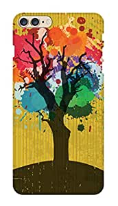 SWAG my CASE PRINTED BACK COVER FOR APPLE IPHONE 7 PLUS Multicolor