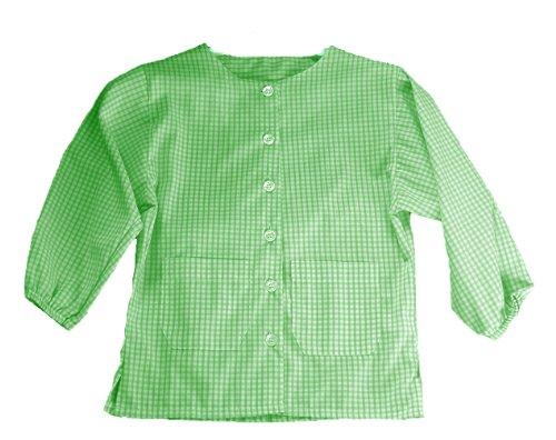 Grembiule asilo verde 2-3 anni