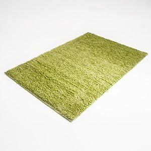 Floori® Shaggy Teppich | Limette/Grün  Größe wählbar  GuTSiegel/PRODIS  BaumarktBewertungen und Beschreibung