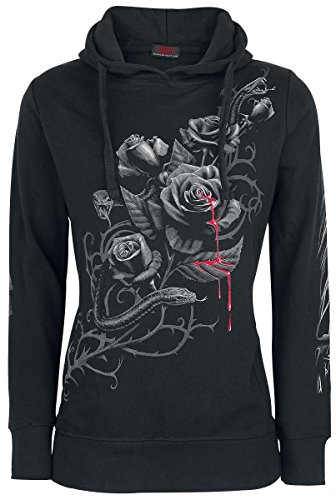 Spiral Fatal Attraction Felpa donna nero XL