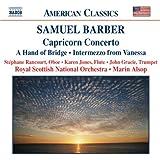 Samuel Barber: Capricorn Concerto; A Hand of Bridge; Intermezzo from Vanessa