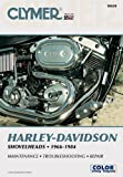 img - for Clymer Harley-Davidson Shovelheads 1966-1984: Service, Repair, Maintenance book / textbook / text book