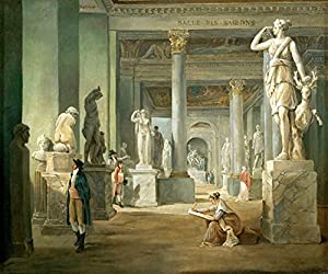 Amazon.com: HALL OF SEASONS AT THE LOUVRE MUSEUM STATUES