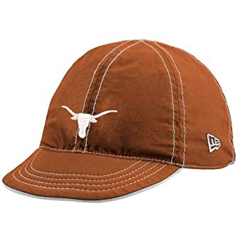 NCAA New Era Texas Longhorns Focal Orange/White Infant Junior Mesa Flip Reversible Hat