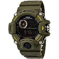 Casio G-Shock Digital Dial Green Resin Men's Watch (Green)