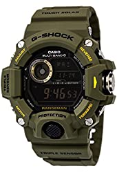 G-Shock Rangeman Master Of G Series Stylish Watch - Green / One Size