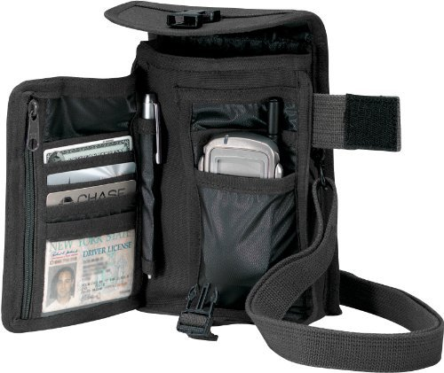 Venturer Travel Portfolio Bag Rothco 2325, Black