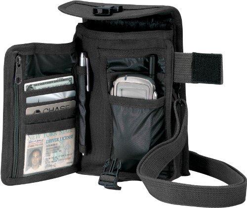 Venturer Travel Portfolio Bag Rothco 2325, Black