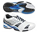 BABOLAT Men's SFX All Court Tennis Shoes, White/Silver, UK12