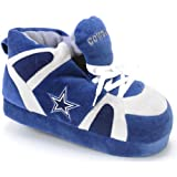 Comfy Feet NFL Sneaker Boot Slippers - Dallas Cowboys