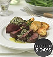 Venison Steak with Salsa Verde Butter