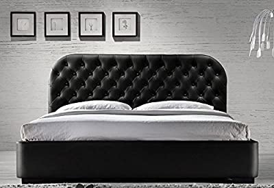 Siena 4ft6 Double or 5ft Kingsize Designer Leather Bed With Mattress Deal Bedroom Furniture