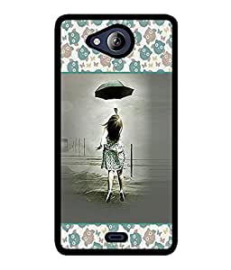 Fuson 2D Printed Girly Designer back case cover for Micromax Canvas Play Q355 - D4278
