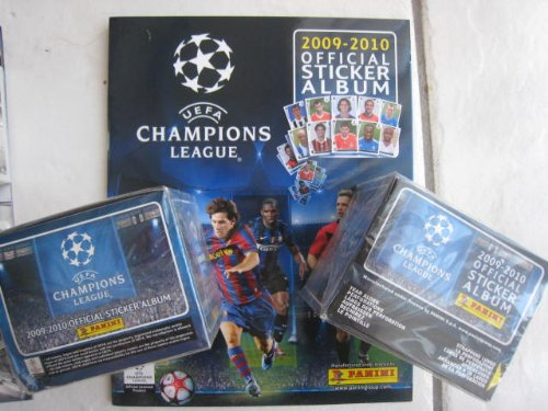 Panini Uefa Champions League 2009 / 2010 2 Boxes + Album Italy