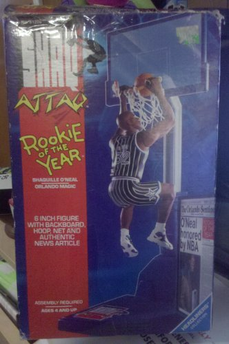 Shaq Attack Figure Rookie of the Year Orlando Magic Playset (1993)