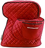KitchenAid KSMCTIER Fitted Stand Mixer Cover, Empire Red