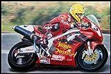 Joey Dunlop Vimto Honda SP-1 Jumbo Fridge Magnet