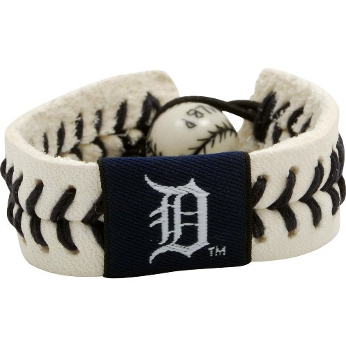mlb detroit tigers authentic baseball bracelet free