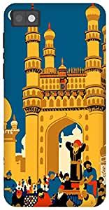 The Racoon Grip hyderabad diaries hard plastic printed back case/cover for Blackberry Z10