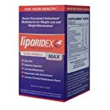 Liporidex MAX - Ultra Formula Weight Loss Supplement Fat Burner &amp; Appetite Suppressant - The easy way to lose weight fast! - 72 diet pills - 1 Box.