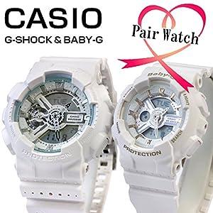 【ペアウォッチ】 カシオ Gショック ベビーG 腕時計 ホワイト GA-110LP-7AJF BA-110GA-7A1JF 国内正規
