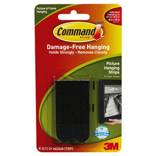 command-17201blk-medium-picture-hanging-strips-black-pack-of-4