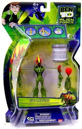 Ben 10 Alien Force 6″ DNA Alien Heroes Swampfire Figure (B001O1MLV0