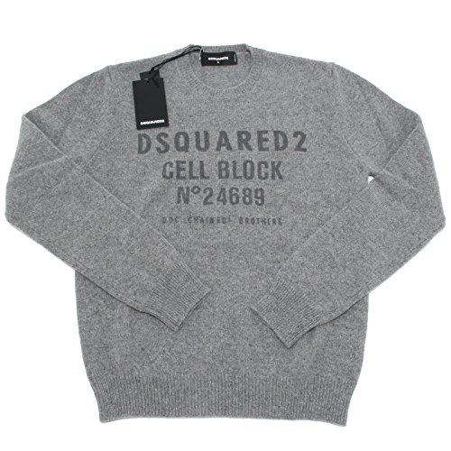 8728L maglione uomo DSQUARED D2 lana alpaca maglioni jumpers men [S]