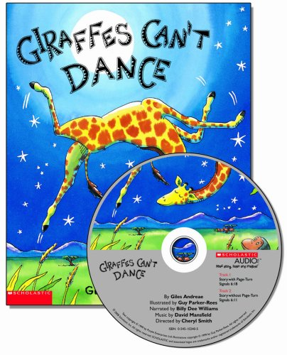Giraffes Cant Dance: Audiobook Read-Along (Paperback and CD)