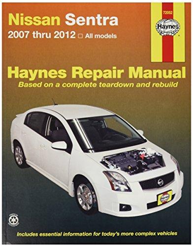 HAYNES 72052 NISSAN SENTRA, '07-'12 (Haynes Nissan Sentra compare prices)