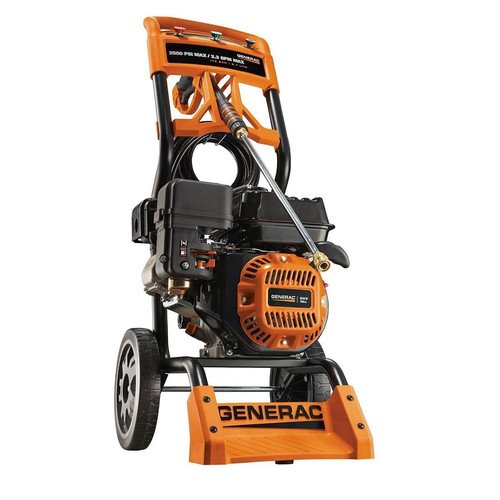 Factory-Reconditioned Generac 6596R 2,800 PSI 2.5 GPM 196cc OHV Gas Residential Pressure Washer (Generac Pressure Washer Gas Tank compare prices)