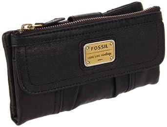 Fossil Emory Clutch SL2931 Wallet,Black,One Size