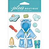 Jolee's Boutique Dimensional Stickers, Baby Boy Bath Time