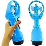 D-FantiX® Portable Water Misting Fan Water Spray Fan Handheld Mist Fan Outdoor (Blue)