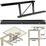 Woodtek 164228, Hardware, Table, Folding Table Hardware, Coffee Table Top Lift Mechanism-L+r, 1 Pair